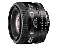 Nikon 50mm f/1.4D AF Nikkor Lens for Nikon Digital SLR Cameras by Nikon