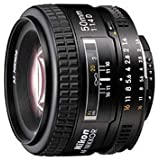 Nikon 50mm f/1.4D Auto Focus Nikkor Lens for Nikon Digital SLR Cameras - Fixed
