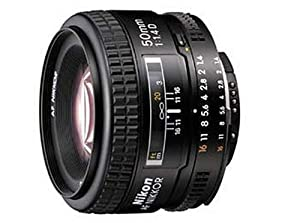 Nikon 50mm f/1.4D Auto Focus Nikkor Lens for Nikon Digital SLR Cameras - Fixed