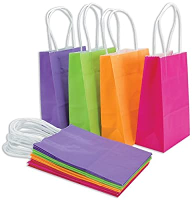 DMD Baker's Dozen Small Bags (5.25 X 3.5 X 8.25 Inches) 13 Per Package - in your choice of color