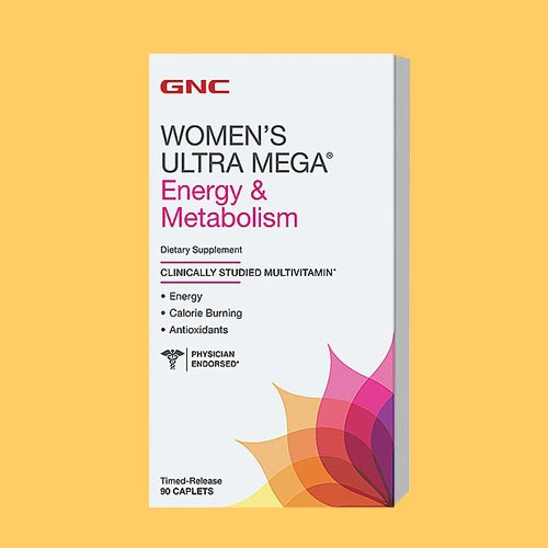 GNC Women's Ultra Mega Energy & Metabolism 90 Caplets - New Formula (Gnc Ultra Mega Energy Women compare prices)
