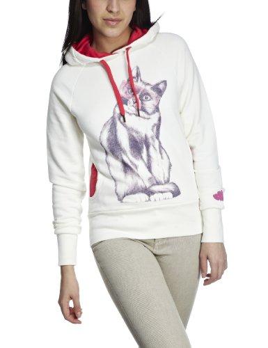 Eastpak Dasha Women's Sweatshirt White Cat Medium