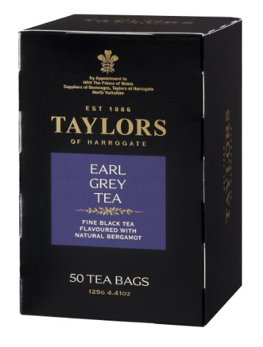 Taylors Of Harrogate Earl Grey Tea, 50 Count Tea Bag