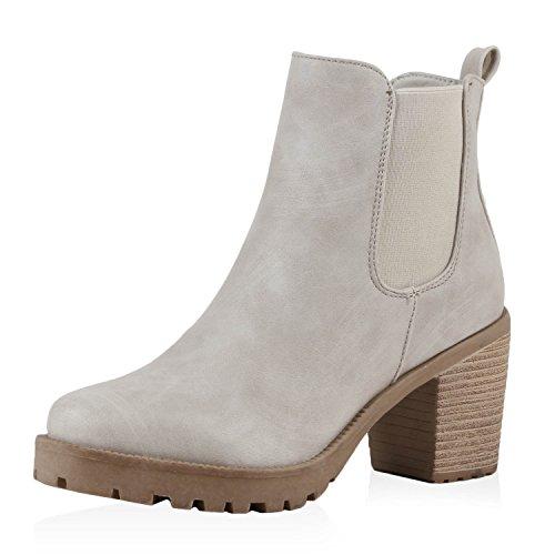 best-de-chelsea-boots-mujer-plateau-botines-botas-trend-color-gris-talla-39-eu