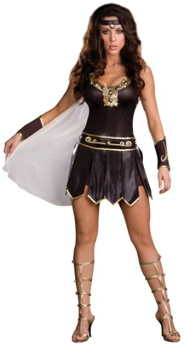 Babe-A-Lonian Warrior Queen Costume - Large - Dress Size 10-14