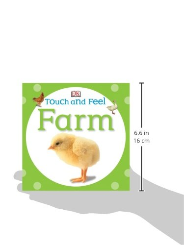 Touch And Feel Toys : Touch and feel farm baby toddler toys
