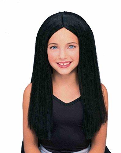 Forum Long Child Wig, Black