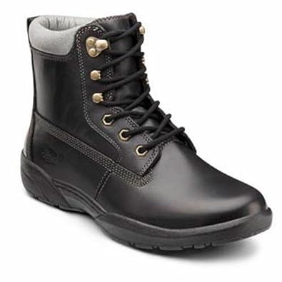 Dr. Comfort Boss Men's Therapeutic Diabetic Extra Depth Boot: Black 6 Medium (B/D) Lace