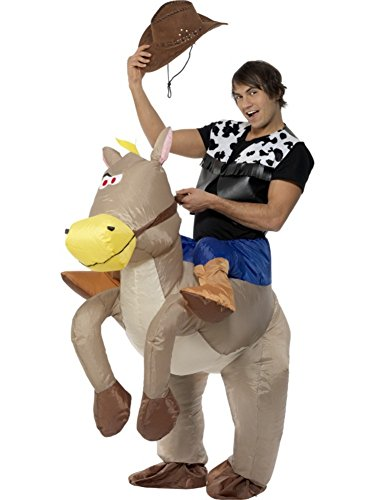 Ride Em Cowboy Inflatable Adult Costume