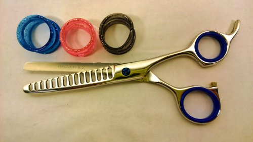 "6.5"" Professional Hair Thinning Barber Scissors Shears Titanium Magnum 440C Free Rings front-507835"