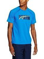 Puma Camiseta Manga Corta Evostripe Tee (Azul)