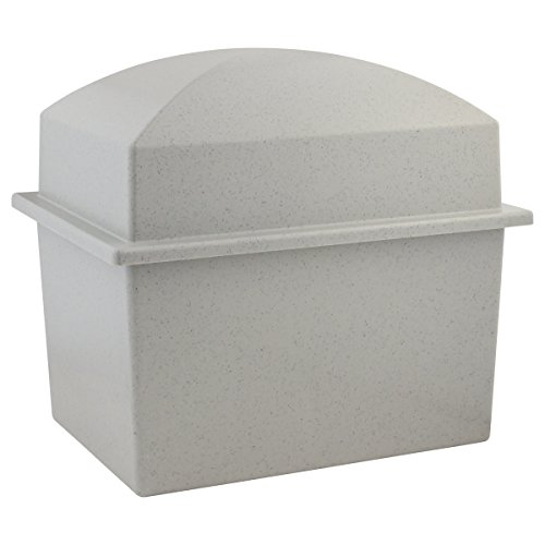 Basic Urn Vault Double - Gray (Burial Urn Vault compare prices)