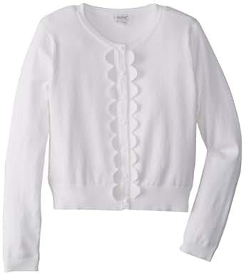 kc parker Big Girls' Big Girl Blend Cardigan Sweater
