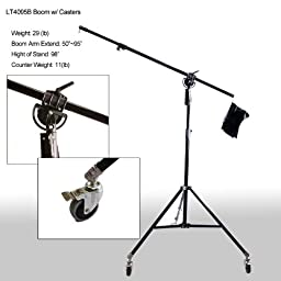 Britek Heavy Duty Boom Stand with Casters A4095B
