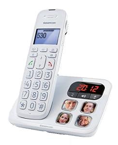T�l�phone fixe SAGEM D530P BLANC SOLO AVEC REPONDEUR