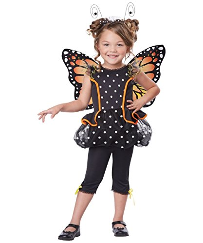 Monarch Butterfly Cutie Toddler Costume image