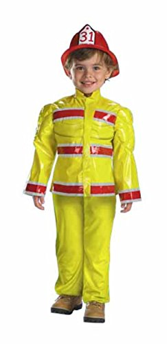 Toddler Fire Captain Blaze Fireman Costume 3t-4t