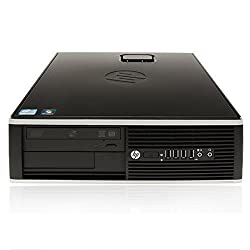 HP 8100 Elite SFF - i5 Quad 3.20GHz, 4GB DDR3, 1TB HDD, Windows 7 Pro 64-Bit, WiFi (Certified Refurbished)