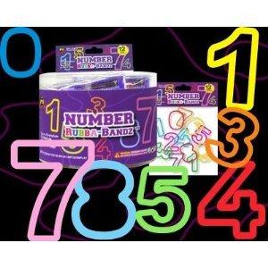 Rubba Bandz Numbers Set