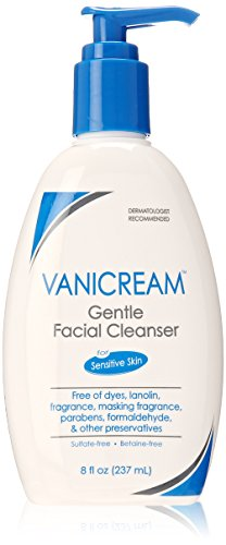 Vanicream Gentle Facial Cleanser for Sensitive Skin, 8 fl oz