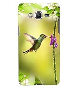 ColourCraft Beautiful Bird Design Back Case Cover for SAMSUNG GALAXY GRAND PRIME G530H