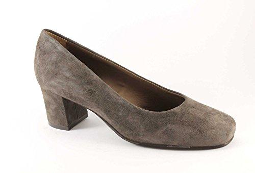 GRUNLAND SETA SC1569 taupe scarpe donna decolletè camoscio 39