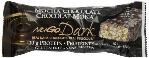 NuGo Dark Mocha Chocolate, 1.76-Ounce (Pack of 12)