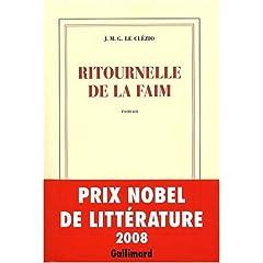 Ritournelle de la faim - Jean-Marie Le Clezio