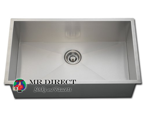 Best Undermount Stainless Steel Sink : Undermount Stainless Steel Kitchen / Utility Sink:Best Kitchen Sinks ...