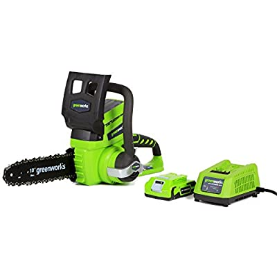 GreenWorks G-24 Li-Ion Cordless Chainsaw