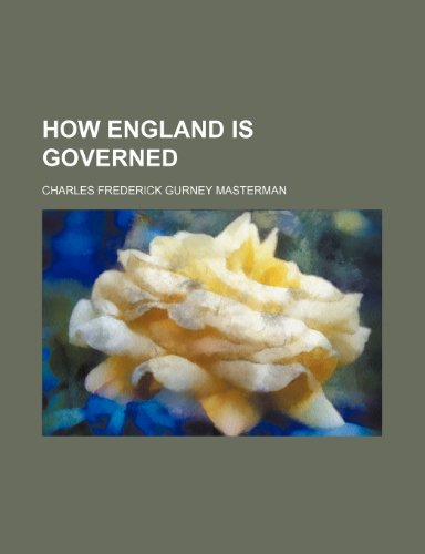How England is governed