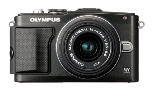 OLYMPUS ミラーレス一眼 PEN Lite E-PL5 レンズキット ブラック E-PL5 LKIT BLK