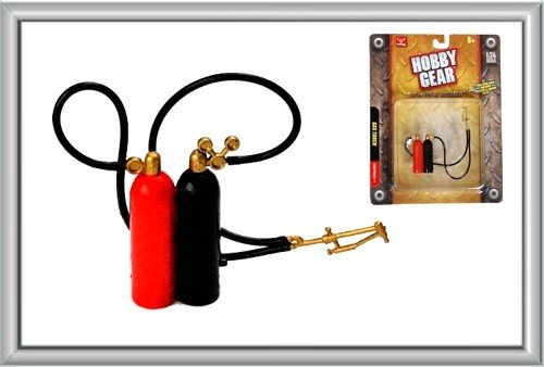 Hobby Gear - 1:24 Scale Garage Gas Torch Model Set