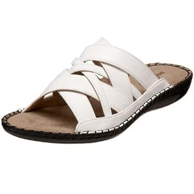 Amazon.com: Duck Head Women's Emma Sandal,White,6 M US: Shoes
