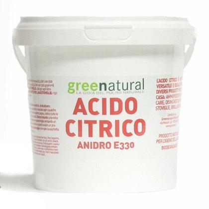 Acido citrico naturale al 100 1kg - Bombe da bagno senza acido citrico ...