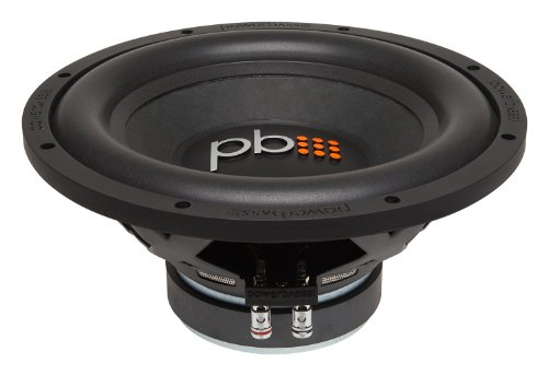 Powerbass S-1204D 12-Inch Dual 4 Ohm Subwoofer 600W Max