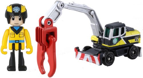 Tomica Hyper builder builder cutter 02 (japan import) - 1