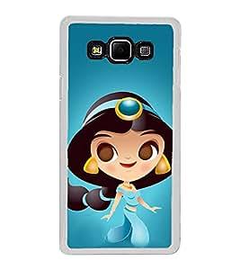 Princess 2D Hard Polycarbonate Designer Back Case Cover for Samsung Galaxy A8 (2015 Old Model) :: Samsung Galaxy A8 Duos :: Samsung Galaxy A8 A800F A800Y
