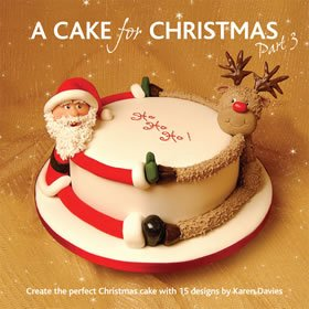 A Cake For Christmas Book 3 by Karen Davies