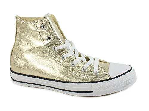 CONVERSE Chuck Taylor All Star Hi sneakers FABRIC GOLD WHITE 153178C