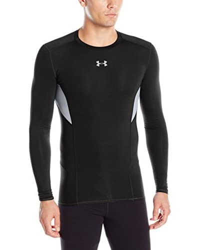 Under Armour Camiseta Técnica Ua Hg Coolswitch Comp Ls Negro