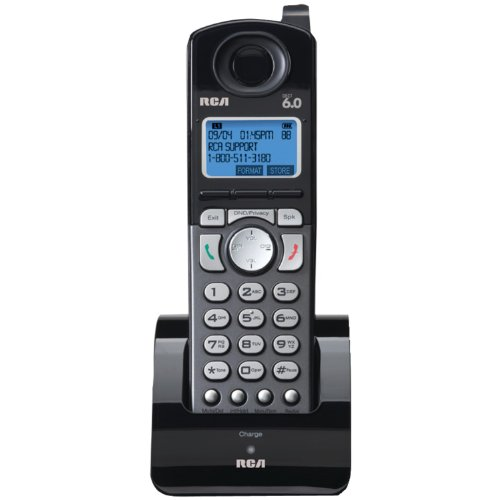 Rca Visys Dect 6.0 Accessory Handset For Rca 25255Re2 Cordless Phone System (25055Re1)