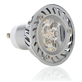 Lighting EVER Dimmable 4W GU10 LED Bulbs, 35W Equivalent, Recessed Lighting, Track Lighting, Warm White