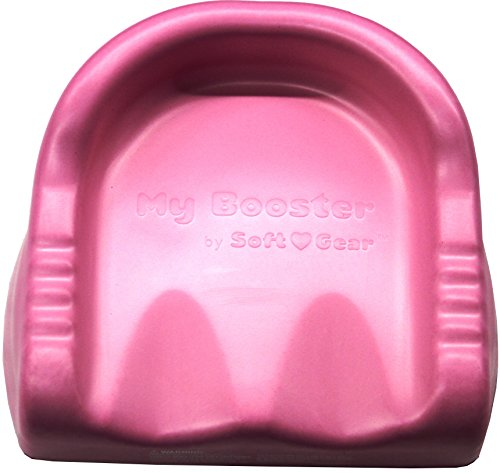 Best Review Of Soft Gear Swimways Spongex Soft Gear My Booster Seat, Pink