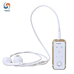 Tfpro Portable Wireless Stereo Music Bluetooth Headset ( Colors May Vary ) With 3.5Mm Jack Earphone And USB Cable For All Apple Models Smartphones Only From M.P.Enterprises