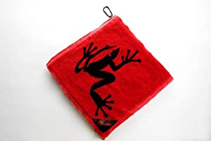 Frogger Amphibian Towel, Red