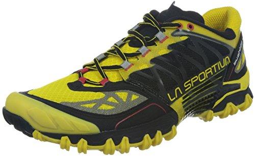 La Sportiva, Scarpe da corsa per uomo, Multicolore (Amarillo/Negro), 43,5