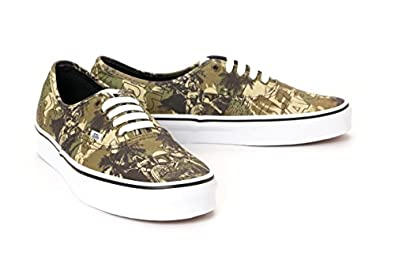 Buy Vans Unisex Authentic Casual Shoes 42010141 Star Wars (VN-0W4NDJH) by Vans
