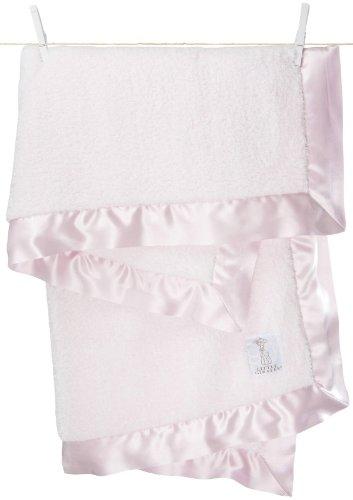 Little Giraffe Chenille Blanket - Pink