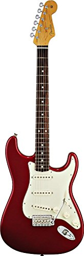 Fender Classic Series 60'S Stratocaster Electric Guitar, Rosewood Fingerboard - Candy Apple Red